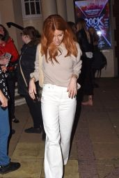 "Stacey Dooley - ""Rock Of Ages"" Press Night in London 02/26/2019"