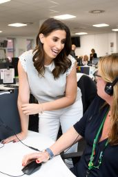 Stacey Solomon at Childline at the NSPCC