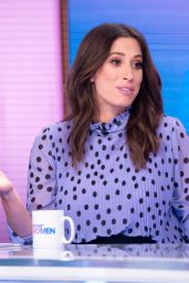 "Stacey Solomon - ""Loose Women"" TV Show in London 02/22/2019"