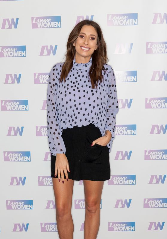 "Stacey Solomon - ""Loose Women"" TV Show in London 02/22/2019"