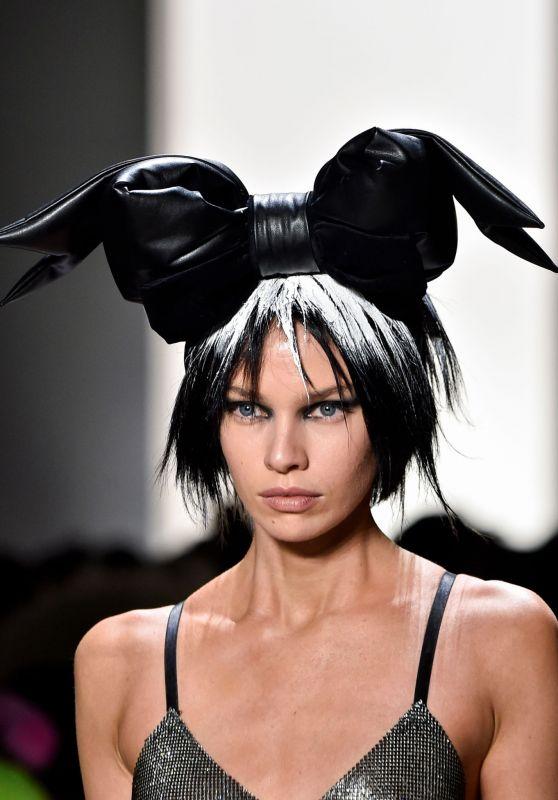Stella Maxwell - Jeremy Scott Fashion Show, NYFW 02/08/2019