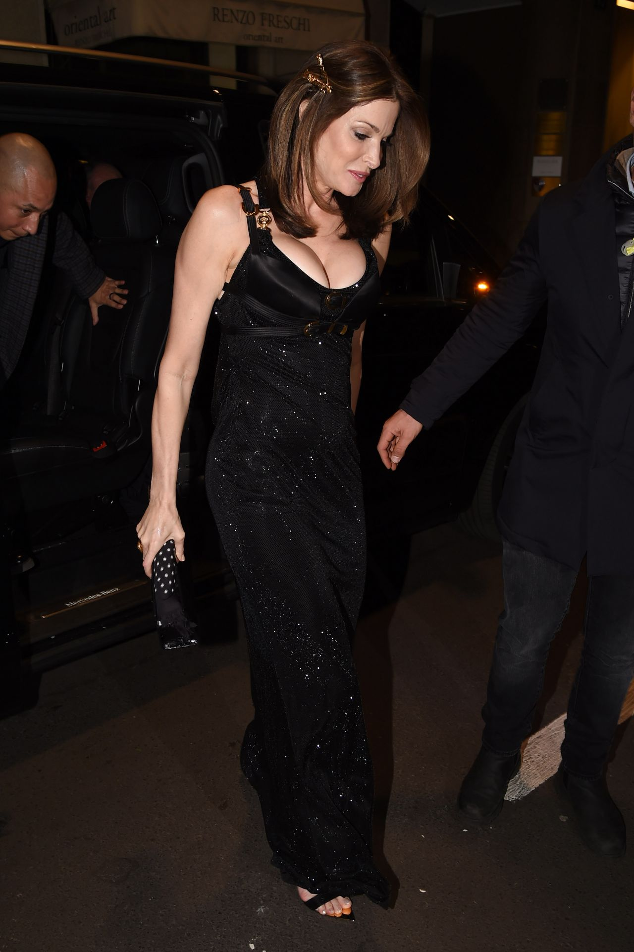 Stephanie Seymour Night Out In Milan 02 22 2019