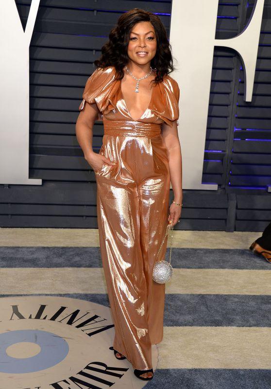 Taraji P. Henson – 2019 Vanity Fair Oscar Party