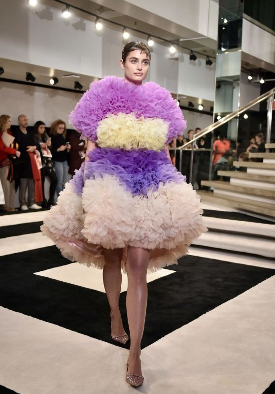Taylor Hill - Tomo Koizumi Fashion Show in NYC 02/08/2019