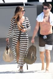 Teresa Giudice on the Beach in Miami 02/22/2019
