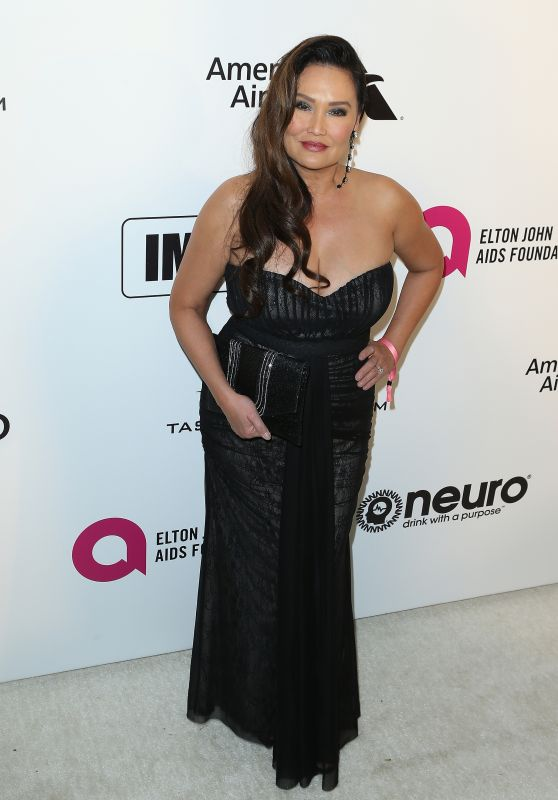 Tia Carrere – 2019 Elton John's Oscars Viewing Party