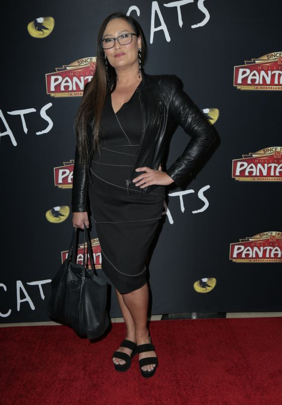 "Tia Carrere – ""Cats"" Opening Night Performance in Hollywood"