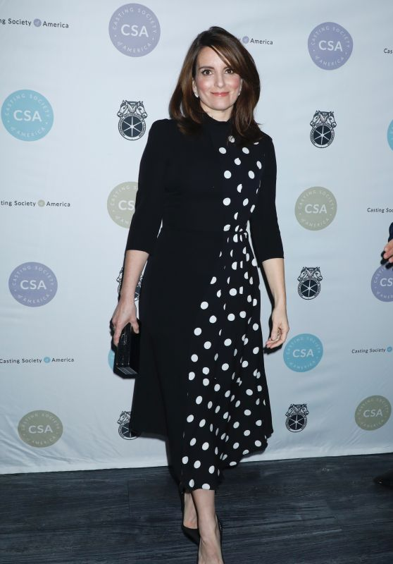 Tina Fey – 2019 Artios Awards in New York City