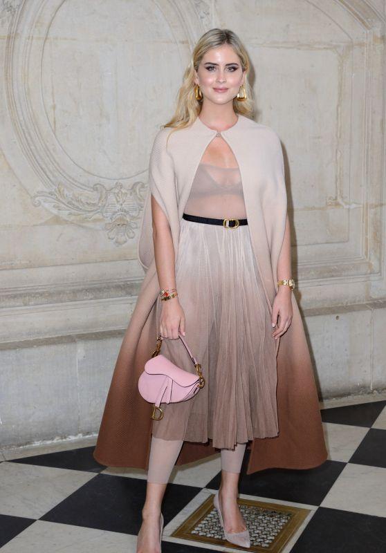 Valentina Ferragni – Christian Dior Fashion Show in Paris 02/26/2019
