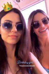 Victoria Justice and Madison Reed in Bikini Top 02/19/2019