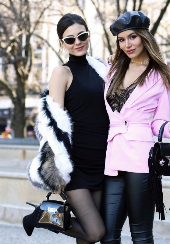 Victoria Justice and Madison Reed - Photoshoot in New York,  February 2019