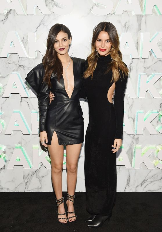 Victoria Justice and Madison Reed – Saks Celebrates New Main Floor in NYC 02/07/2019