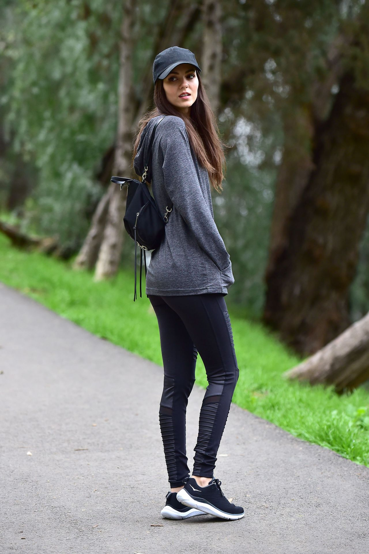 Victoria Justice Out Hiking In Los Angeles 02 04 2019