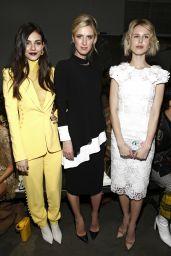 Victoria Justice - Pamella Roland Fashion Show in NYC 02/07/2019