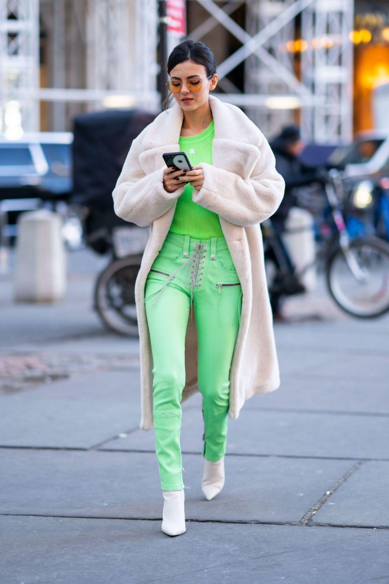 Victoria Justice Street Fashion 02 09 2019