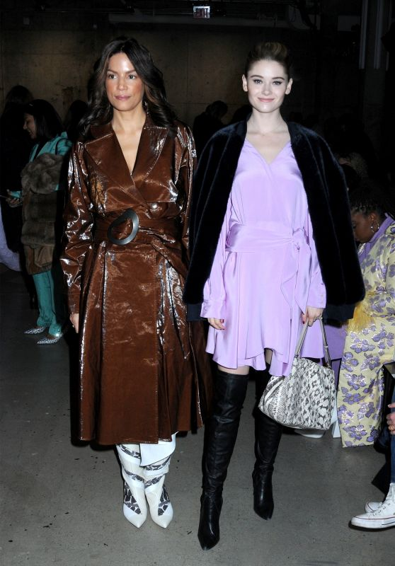 Virginia Gardner and Veronica Webb - TIBI Fashion Show in NYC 02/10/2019