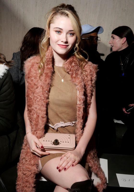 Virginia Gardner – Longchamp Fashion Show in NYC 02/09/2019