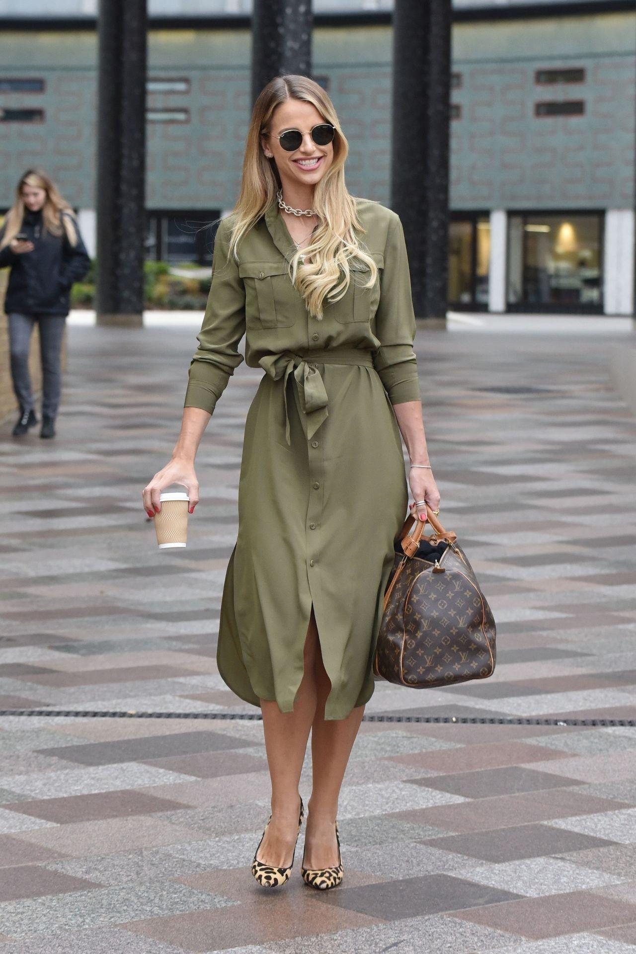 Daleela Echahly Street Fashion: Leaving The ITV Studios In London 02/05/2019