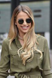 Vogue Williams - Leaving the ITV Studios in London 02/05/2019