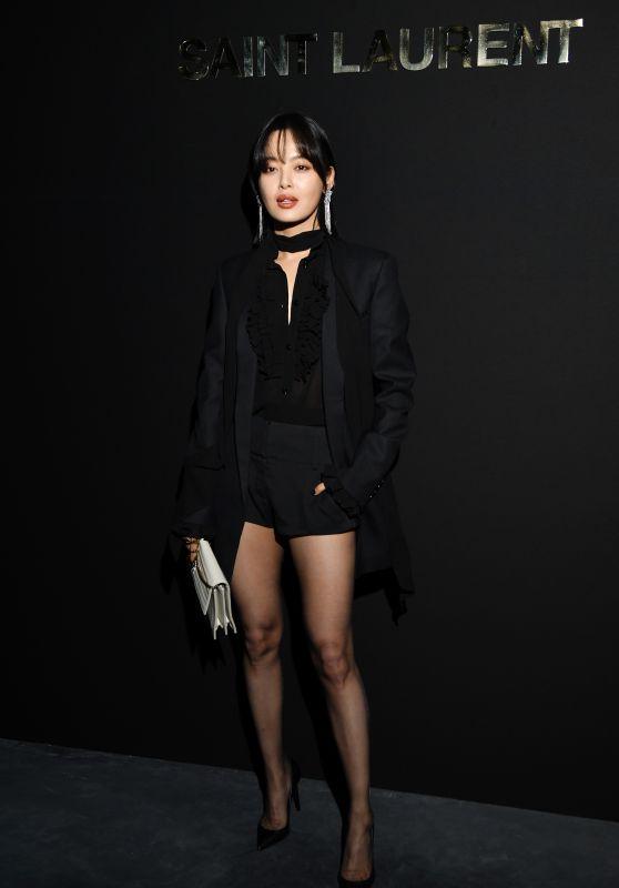 Xin Zhiley – Saint Laurent Fashion Show in Paris 02/26/2019