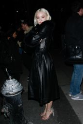 Zara Larsson - Arrivals at Jonathan Simkhai NYFW 2019