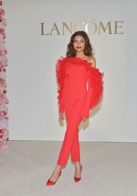Zendaya - New Lancôme Global Brand Ambassadress 02/21/2019