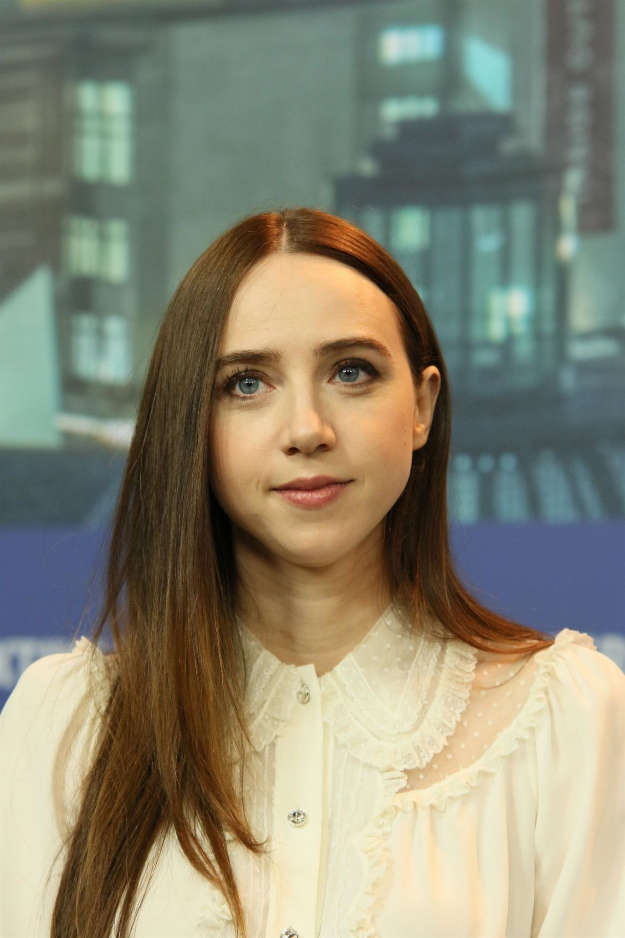 Zoe Kazan - The Kindness Of Strangers Press Conference
