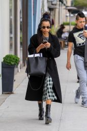 Zoe Kravitz - Shopping on Rodeo Drive in Beverly Hills 02/12/2019