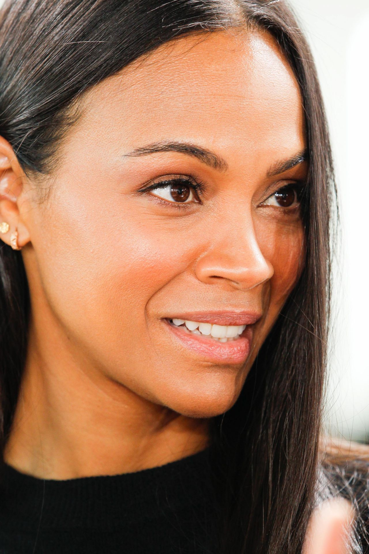 "Zoe Saldana - ""Science Fair"" TV Show Panel at TCA Winter ..."