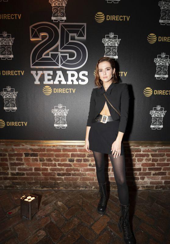 Zoey Deutch – DIRECTV Super Saturday Night 2019