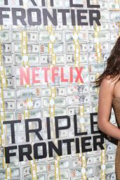 "Adria Arjona - ""Triple Frontier"" Premiere in NY"