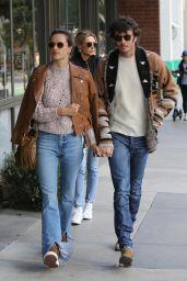 Alessandra Ambrosio and Nicolo Oddi - Go To the Hillstone Restaurant in Santa Monica 03/09/2019