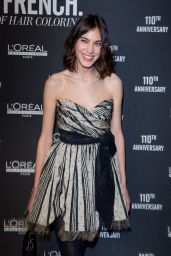 Alexa Chung - La French Art of Coloring 110th Anniversary of L