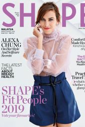 Alexa Chung - Shape Magazine Malaysia March / April 2019 Issue