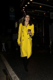 "Alexandra Daddario - Leaving ""The Fonda Theatre"" in Hollywood 03/08/2019"