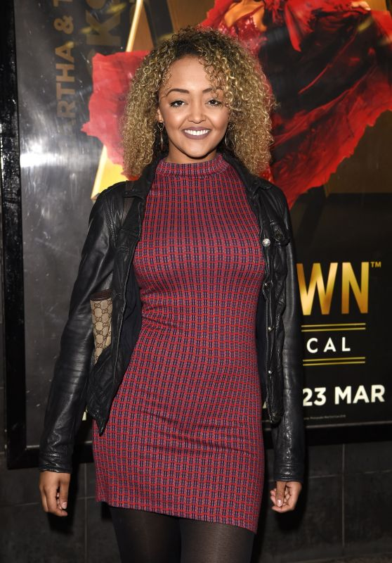 "Alexandra Mardell - ""Motown"" Musical Press Night at Manchester Opera House"