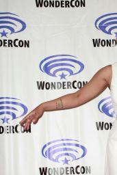 "Alexandra Shipp – ""Dark Phoenix"" Press Line at WonderCon 2019"