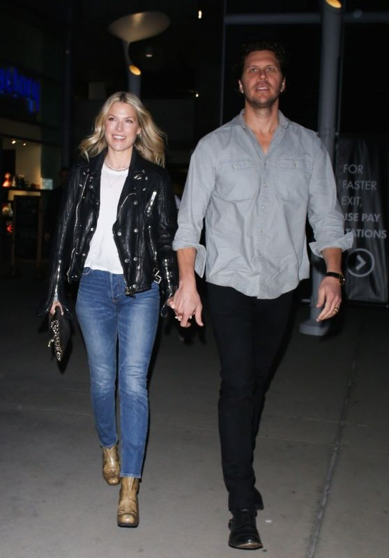 Ali Larter and Hayes MacArthur Night Out at the ArcLight in Hollywood 03/18/2019