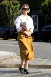 Alice Eve Cute Style - Out in Hollywood 03/22/2019