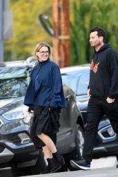 Alice Eve - Out for Dinner in LA 03/24/2019