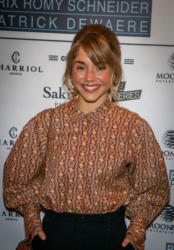 "Alice Isaaz - The 37th ""Romy Schneider And Patrick Dewaere Awards"" Nominee Luncheon in Paris"