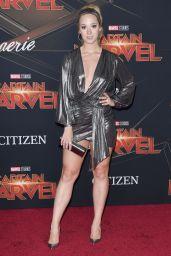 "Alisha Marie – ""Captain Marvel"" Premiere in Hollywood"