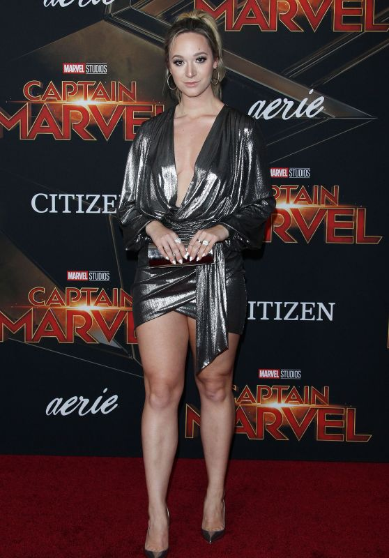 "Alisha Marie – ""Captain Marvel"" Premiere in Hollywood"
