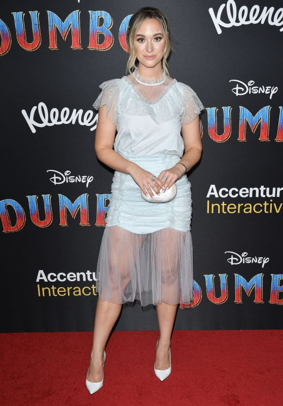 "Alisha Marie – ""Dumbo"" World Premiere in Hollywood"
