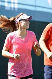 Alize Cornet – Practice at the 2019 Indian Wells Masters 1000