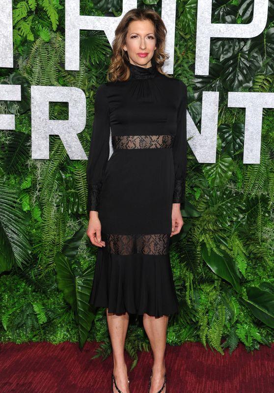 "Alysia Reiner – ""Triple Frontier"" Premiere in NY 03/03/2019"