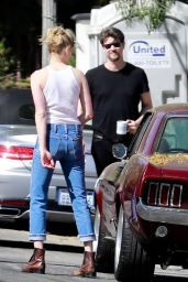 Amber Heard and Andy Muschietti - Visit a Friend