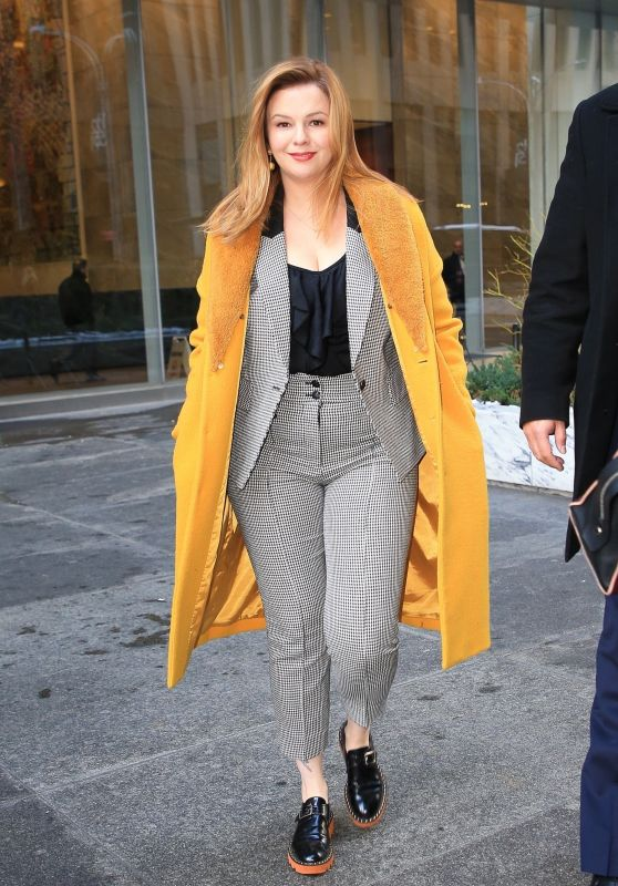 Amber Tamblyn - Promotional Tour in New York 03/04/2019