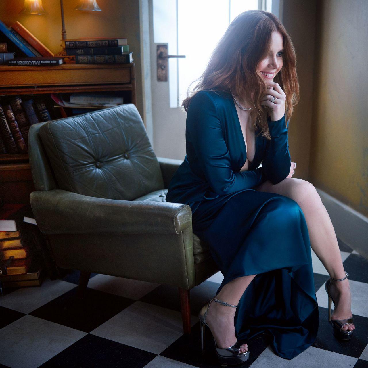 Amy Adams Vanity Fair Oscar Party Portrait February 2019