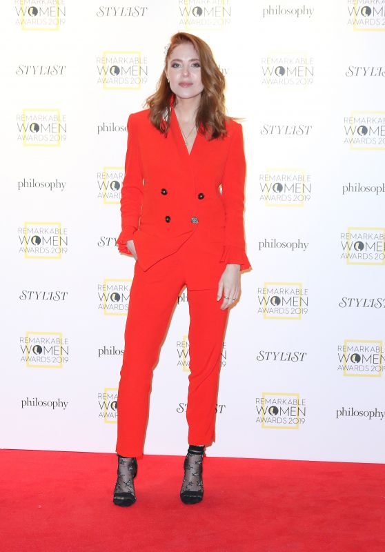 Angela Scanlon – Stylist's Inaugural Remarkable Women Awards in London 03/05/2019
